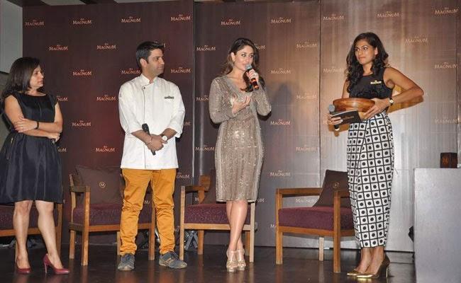 Stunning Kareena At Magnum Chocolate Ice Cream Launch Event
