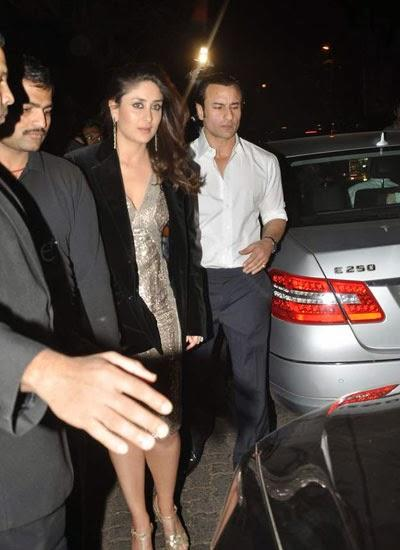 Kareena And Saif Both Are Looking Stylish At Randhir Kapoor's Birthday Bash