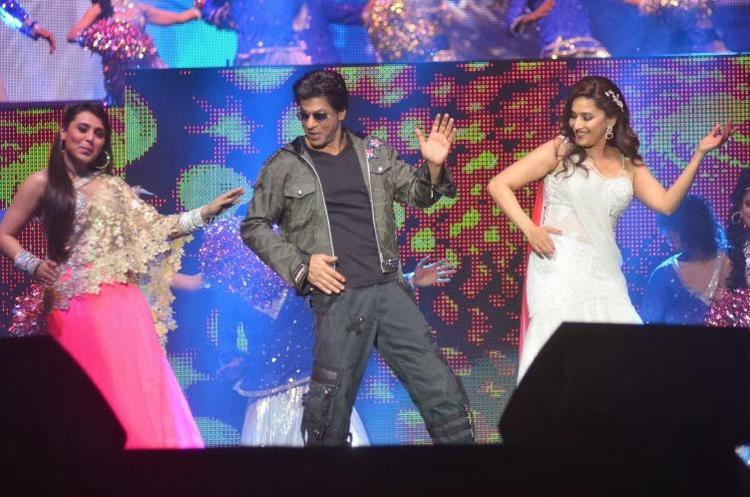 Rani,SRK And Madhuri Shake Their Legs At Temptation Reloaded 2014 In Malaysia