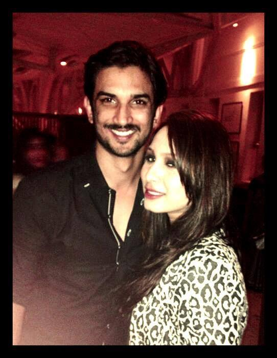 Sushant Singh Rajput Smiling Pose Photo Shoot With A Friend