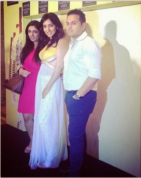 Neha Sharma At Lakme Fashion Week Summer Resort 2014