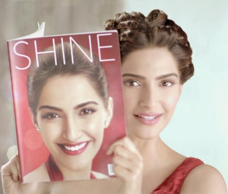 Pretty Sonam Kapoor Colgate Visible White Ad Photoshoot