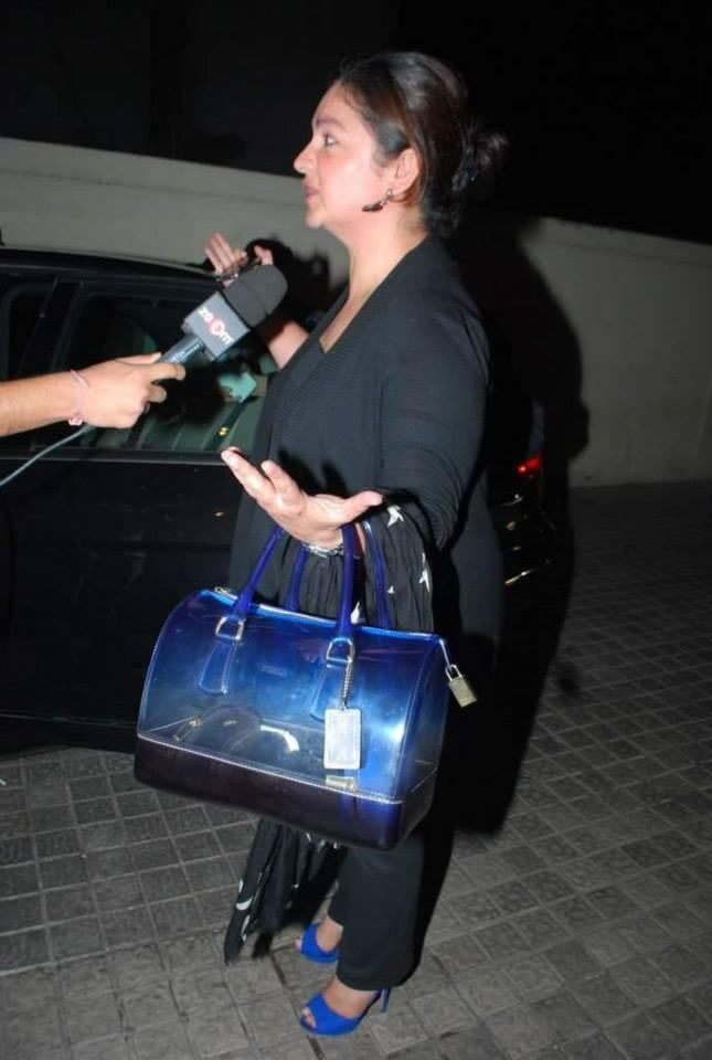 Pooja Bhatt Addresses The Media At The Special Screening Of Highway