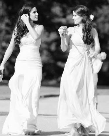 Bollywood Beauty Katrina Kaif With A Sister Latest Photo
