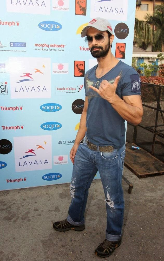 Bollywood Star Spotted At Lavasa Women's Drive Event In Mumbai