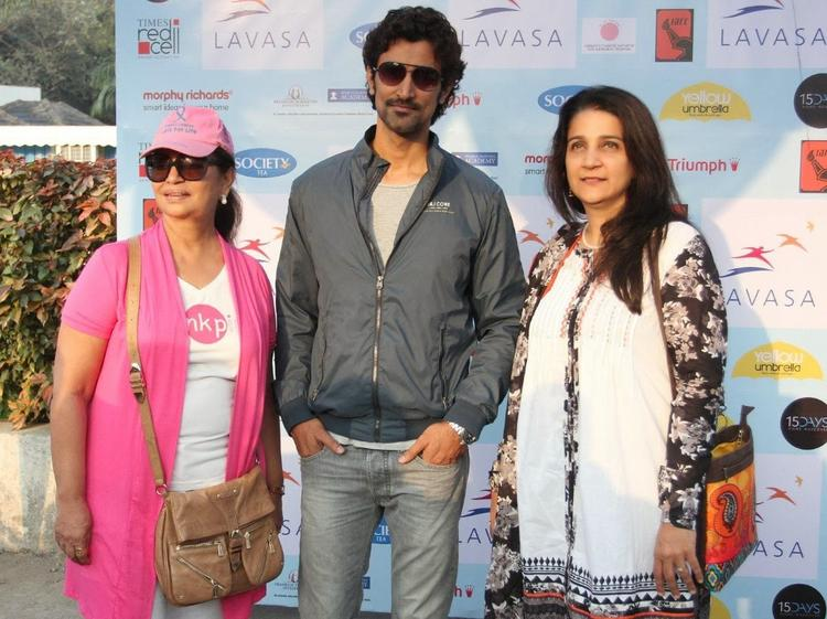 Kunal Kapoor Snapped At 6th Edition Of The Lavasa Women's Drive Event