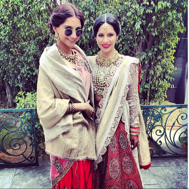 Sonam Kapoor Stylish Cool Look At Her Friend's Wedding Ceremony