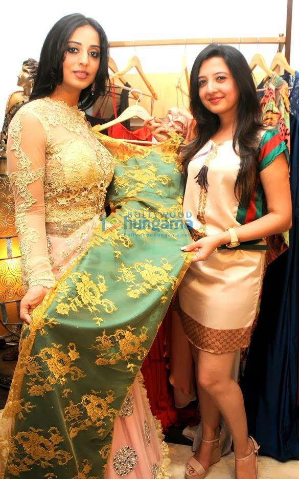Actress Mahie Gill Spotted At Designer Amy Billimoria's Store In Mumba