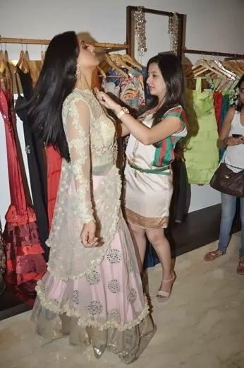 Amy Makeup Mahie Gill For Gang Of Ghosts Movie At Her Store