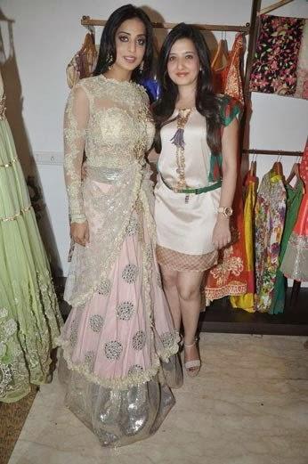 Mahie Gill And Amy Billimoria Stunning Pose Photo Shoot At Her Showroom