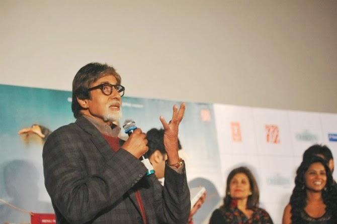 Amitabh Bachchan Talk About His Movie Bhoothnath Returns At Its Trailer Launch Event
