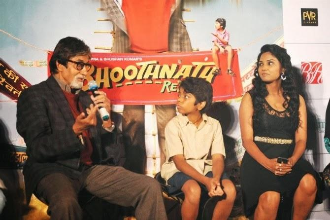 Amitabh Bachchan Turns Magician At Poster Launch Of Bhoothnath Returns