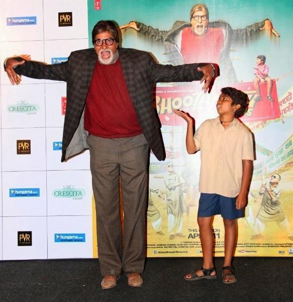 Amitabh Bachchan Unveils Bhootnath Returns Movie Trailer