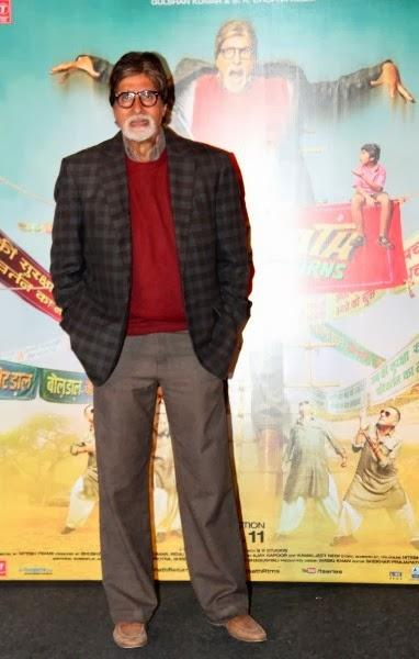 Amitabh Bachchan Was Present At The Trailer Launch Event Of The Film 'Bhoothnath Returns
