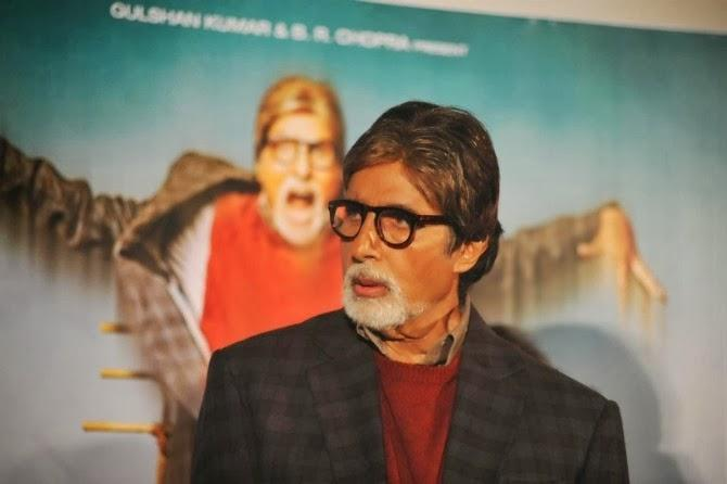 Amitabh Interact With Audiance At  Bhoothnath Returns Launch Event
