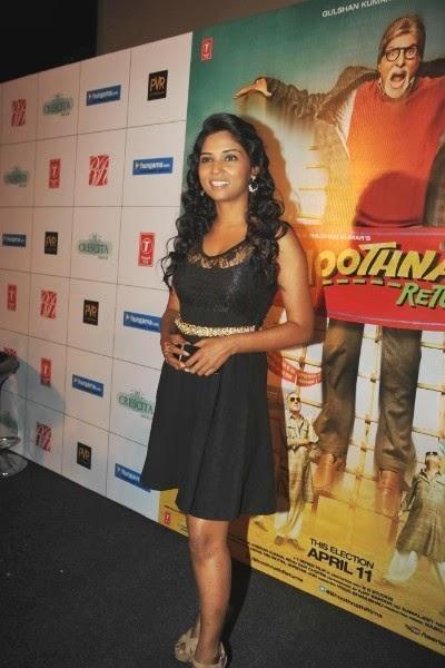 Bhootnath Returns Theatrical Trailer Launch Event Usha Jadhav Pic