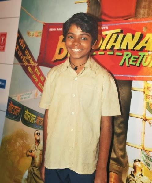 Child Actor Parth Bhalerao, Who Is A Part Of The Film, Was Beaming For The Cameras