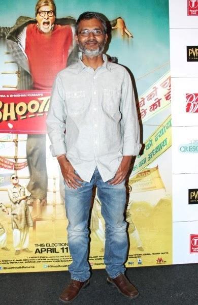 Director Nitesh Tiwari Pose During The Trailer Launch Of Bhootnath Returns