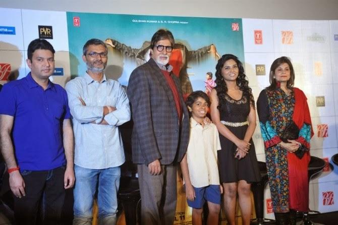 Director,Producer And Actors At Film Bhootnath Returns Trailer Launch In Mumbai