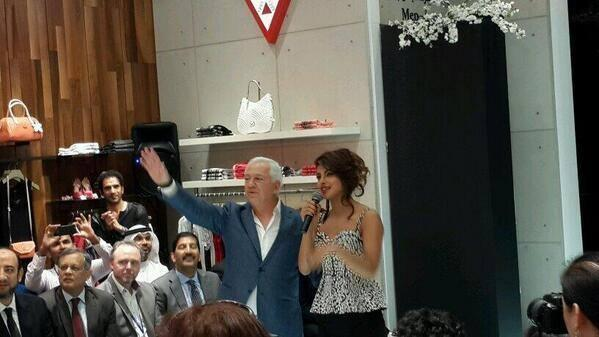 Priyanka Chopra Appeared At Dubai During The Launch Of GUESS Store