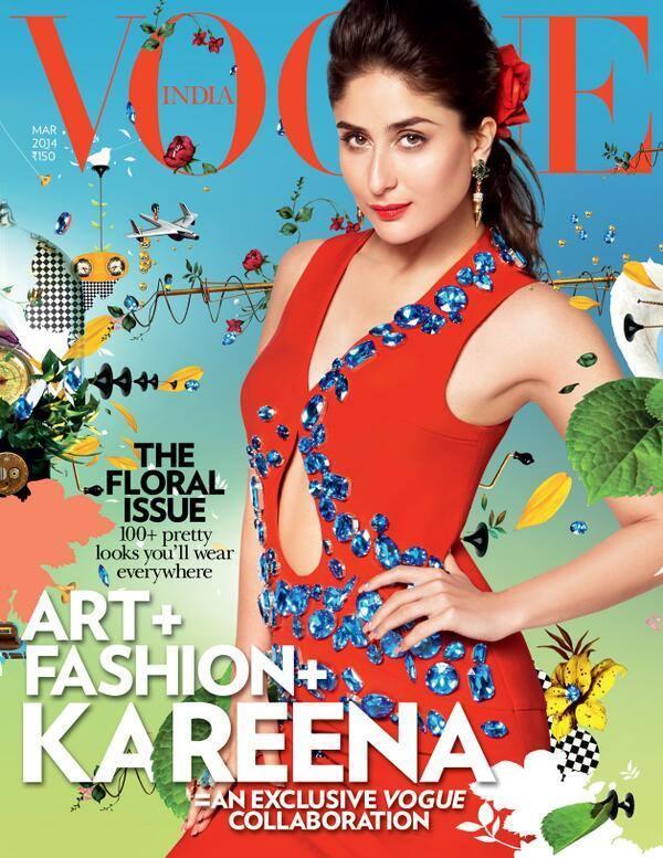 Superb Stunning Photo Shoot Of Bollywood Bebo Kareena Kapoor For Vogue India