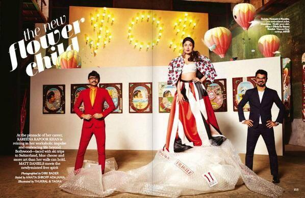 Vogue India Magazine March 2014 Issue Feats Kareena Kapoor