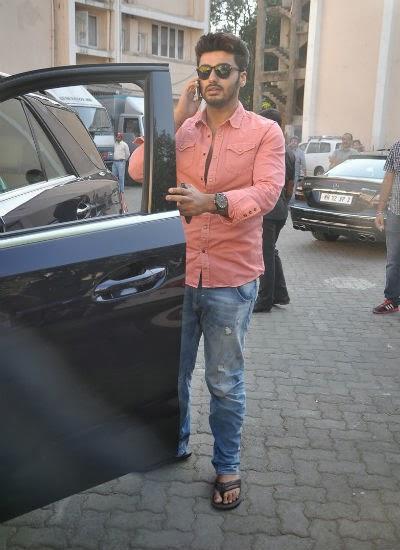 Arjun Kapoor Dashing Look At A Magazine Shoot