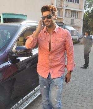 Arjun Kapoor Smiling Look At A Magazine Shoot