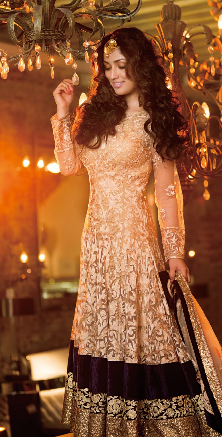 Bollywood Diva Yami Gautam In A Beautiful Wedding Costume For Magazine Shoot