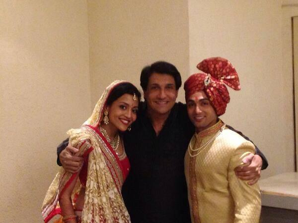 Ruslaan And Nirali Photo Shoot With Choreographer Shiamak At Their Wedding