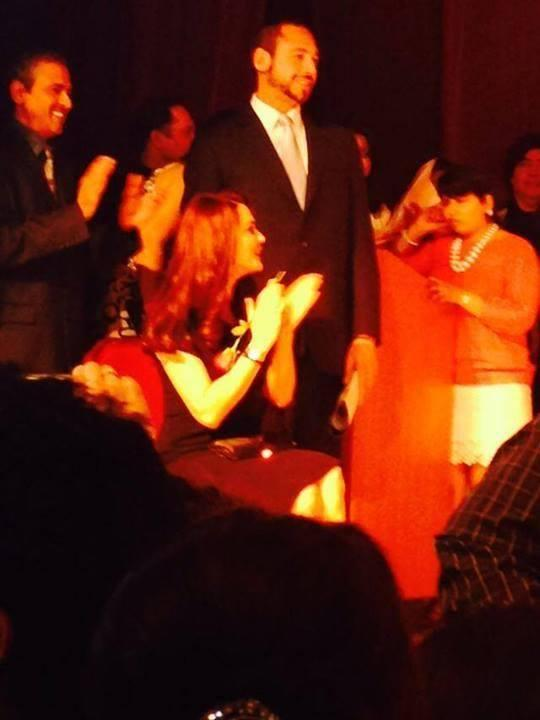 Preity Zinta Enjoying Pic During The Spring Charity Ball 2014