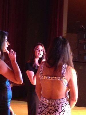 Preity Zinta Snapped At Spring Charity Ball 2014 In California