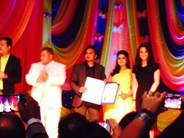Preity Zinta At Spring Charity Ball 2014 In California