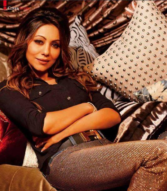 Gauri Khan Stunning And Cool Pic On The Cover Of Hello Magazine