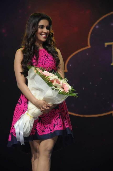 Asin Taken At A Press Conference At The Kingdom Of Dreams In Delhi