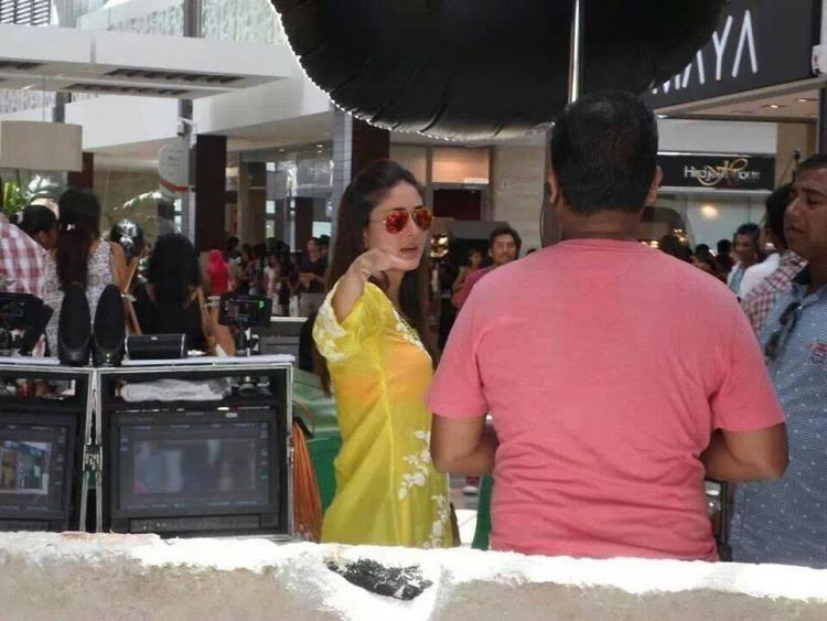 Kareena Snapped At Humshakals Sets To Spend Time With Her Hubby Saif