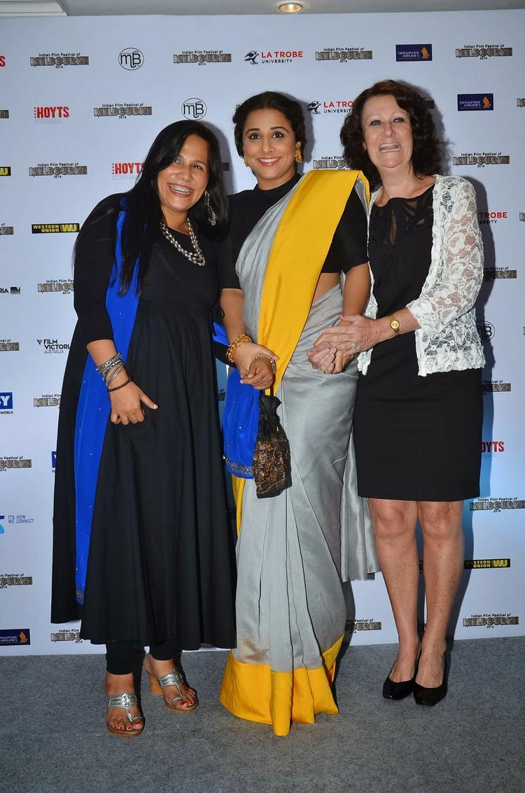 Festival Ambassador Vidya Balan Caught In A Light Mood At The IFFM Event