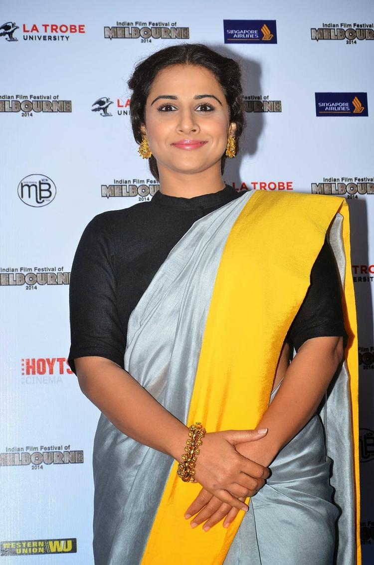 Vidya Balan At Press Conference Of Melbourne Film Festival 2014