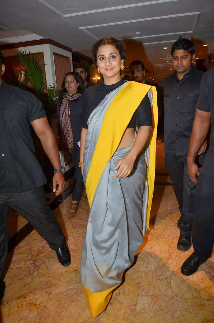 Vidya Balan Spotted At The Indian Film Festival Of Melbourne 2014 Press Conference