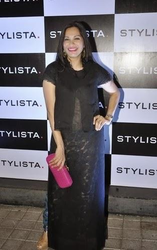 Maria Goretti Hot Look In Black Attire At Stylista Bash In Honour Of Wendell Rodricks