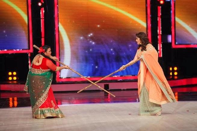 Bharti And Madhuri Fun Still On The Stage Of IGT