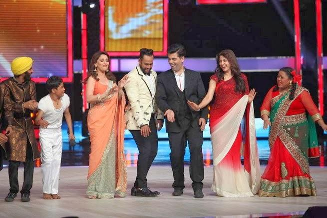 Juhi Dance With Karan On The Stage Of IGT Grand Finale