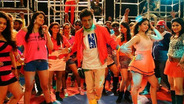 Shivaraj Kumar Hot Dance Still From Shivaraj Kumar's Aryan Kannada Movie