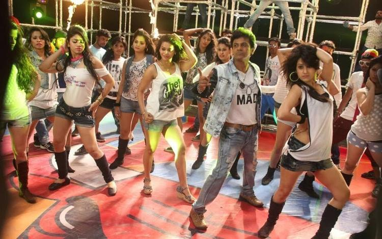 Shivaraj Kumar Rocking Pose Still From Shivaraj Kumar's Aryan Kannada Movie