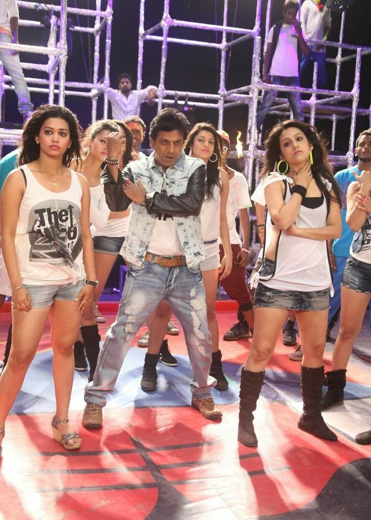 Shivaraj Kumar A Still From Shivaraj Kumar's Aryan Kannada Movie