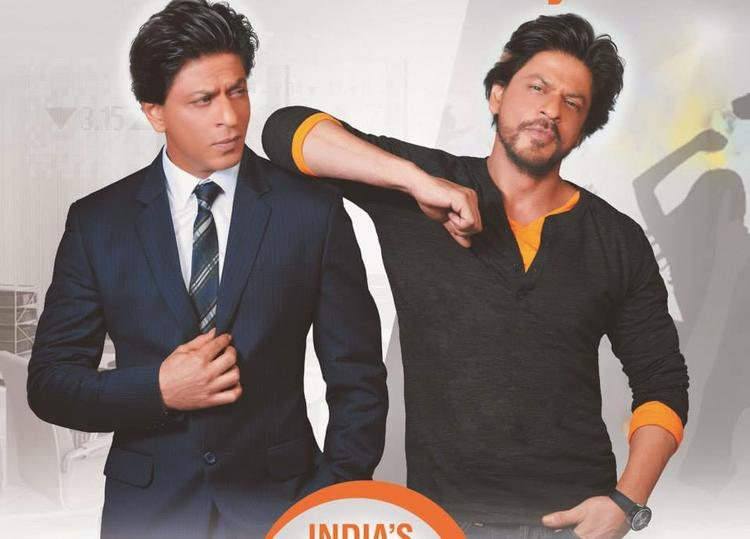 Shahrukh Khan Cool Look Pose Phoot Shoot For NDTV Prime Channel AD 2014