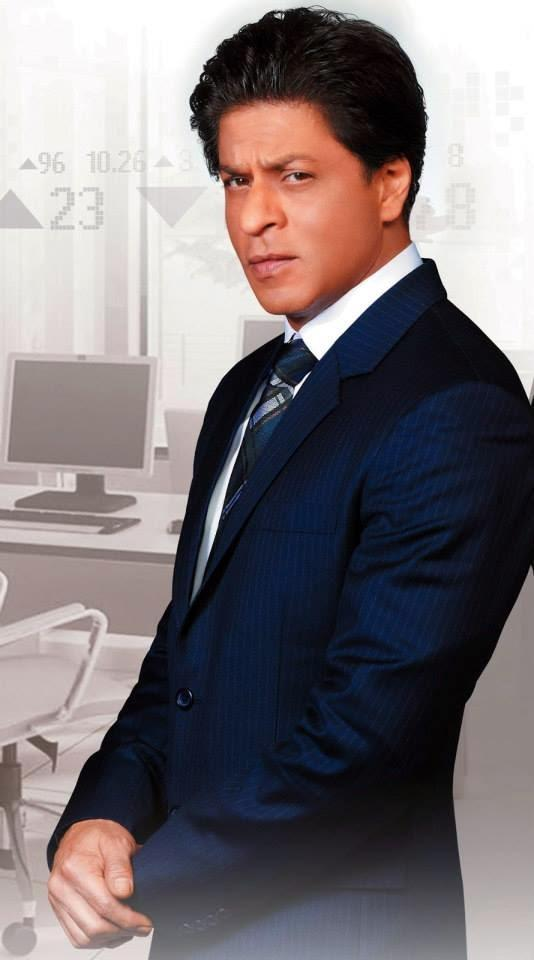 Shahrukh Khan Dashing Look Shoot For NDTV Prime Channel AD 2014