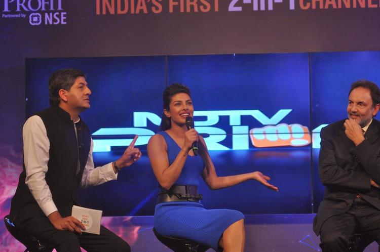Vikram,Priyanka And Dr. Prannoy Discussed At NDTV First Dual Channel Launch Event