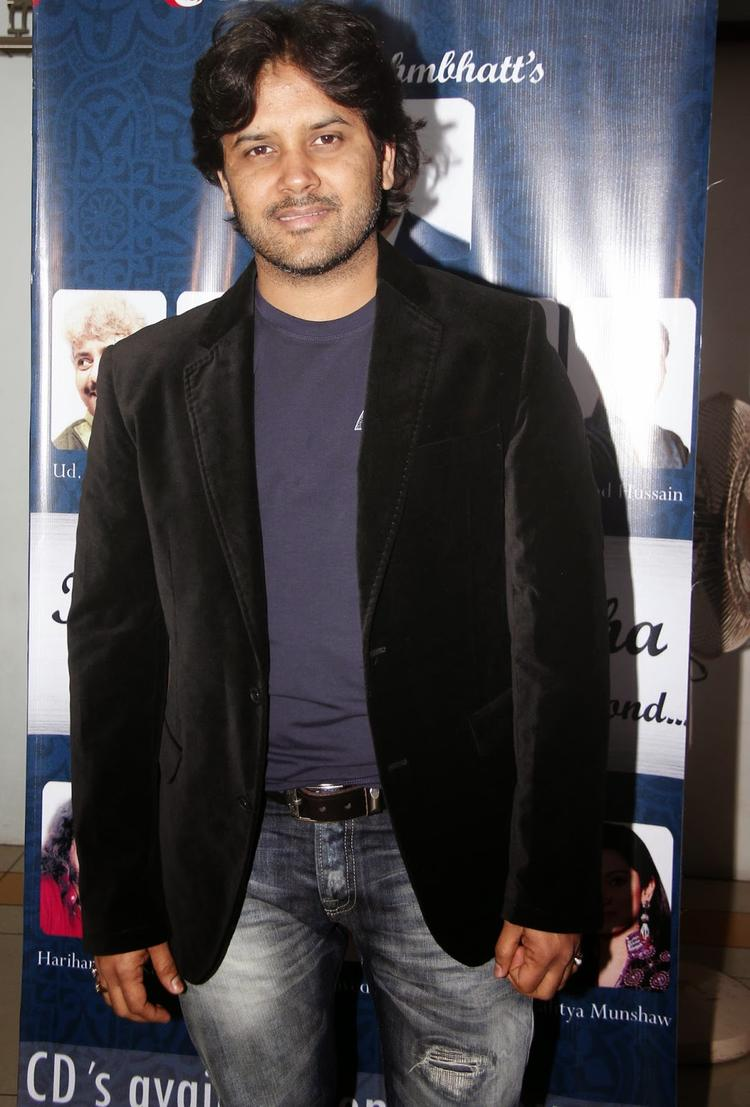 Javed Ali Dashing Look In Suit At The Launch Of Kuch Dil Ne Kaha Ghazal Album