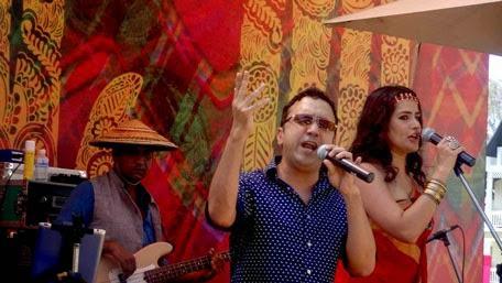Ram Sampath Performs With Wife Sona Mohapatra At Phuket
